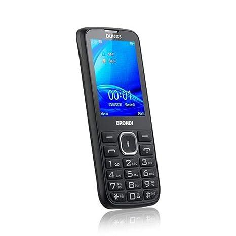3584af73fc Brondi Duke S Telefono Cellulare, Nero: Amazon.it: Elettronica