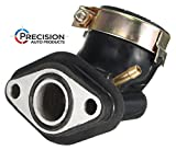 gy6 engine parts - 50cc GY6 Intake Manifold Pipe - PREMIUM replacement part for 49cc and 50cc Engines - ATV, Scooter, Moped, Keeway, TaoTao, Roketa, Tank, Sunl, Vento, TNG, NST, Jonway Scooters - by Precision Auto