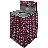 Stylista Washing Machine Cover for IFB TL- SDG 7.0 Kg Aqua Fully Automatic Top Load Floral Printed Pattern