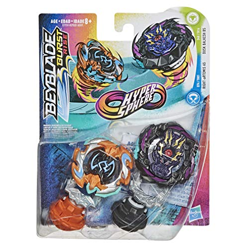 Beyblade Hypersphere Dusk Balkesh B5 And Artemis A5