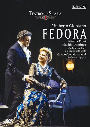 ジョルダーノ:歌劇《フェドーラ》全曲 ミラノスカラ座1993年 [DVD] B003RECEFA