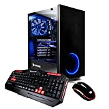 iBUYPOWER Gaming Elite Desktop PC Liquid Cooled AM8440i Intel i7-8700k 3.70GHz, NVIDIA Geforce GTX 1060 6GB, 16GB DDR4 RAM, 1TB 7200RPM HDD,  240GB SSD, Wifi, RGB, Win 10, VR Ready