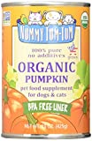 10 Pounds Dog Food - Nummy Tum Tum Pure Pumpkin For Pets, 15-Ounce Cans (Pack of 12)