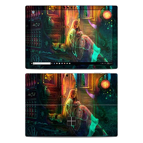 Firefly Cable Protector - Gypsy Firefly Protector Skin Sticker Compatible with Microsoft Surface Pro 6 - Ultra Thin Protective Vinyl Decal wrap Cover