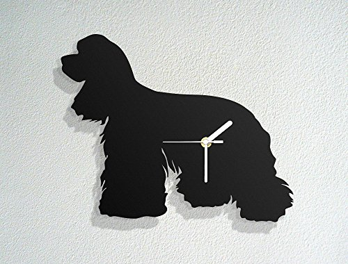 American Cocker Spaniel - Animal Dogs Pets - Canine Training - Vets Gifts - Modern Novelty Gift - Custom Acrylic Wall Clock