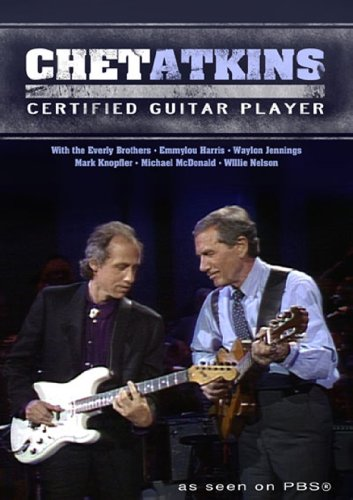 - Chet Atkins Certified Guitar Player DVD As seen on PBS