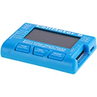 #N/A Digital RC Battery Capacity Tester, Battery Voltage Checker Balance Discharge Servo Tester with Backlight LCD for…