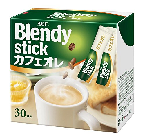 Blendy Stick Cafe Au Lait 0.49oz X 30pcs