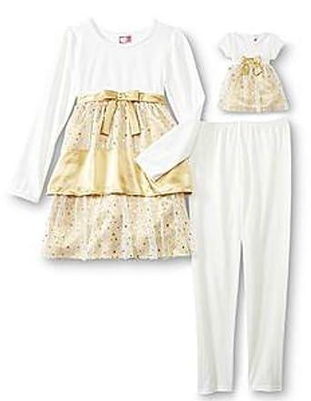 Kleid gold 116