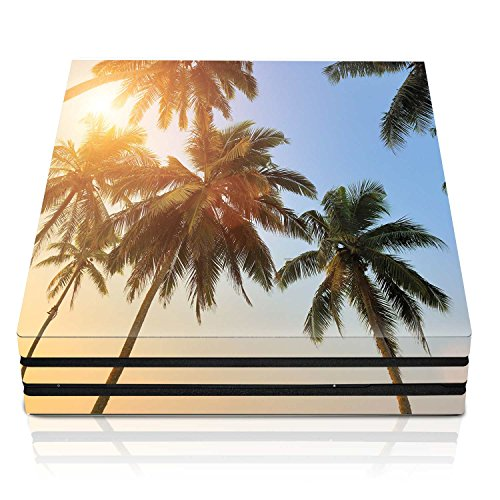 Controller Gear PS4 Pro Console Skin – Sunny Palm Tree Horizontal – PlayStation 4