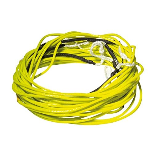 51uOmiQIr6L. SS500  - Jobe Unisex Wake PVC Coated Spectra Rope and Handle - Yellow