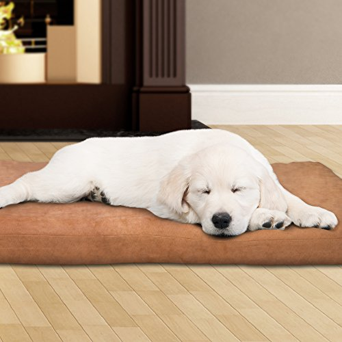 PETMAKER 80-PET4004 3″ Foam Pet Bed 35 x 44, Tan
