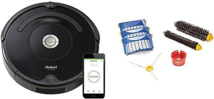 iRobot Roomba 675 機器人真空-Wi-Fi 連接,可與 Alexa 配合使用,適合寵物毛發、地毯、硬地板、自動充電