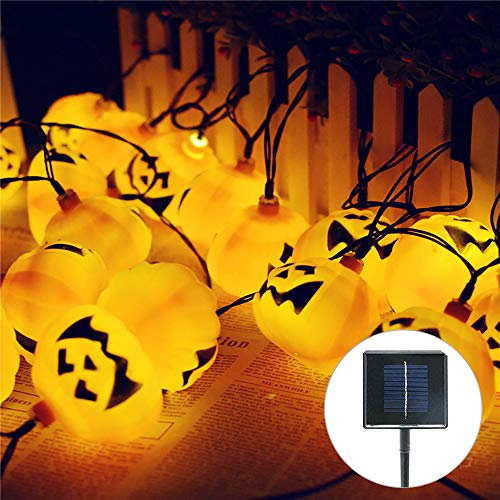 15 Led Halloween Pumpkin String Lights in US - 3