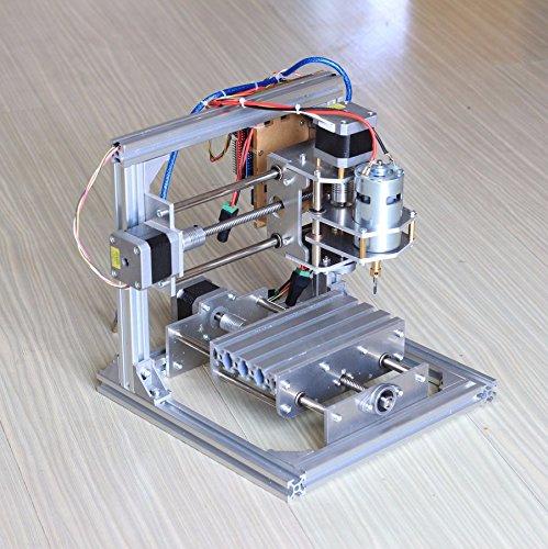 DIY CNCルータキット CNC1310 ミニフライス盤 USBデスクトップ彫刻機、木材、木工用 3 Axis Engraver Machine PCB Milling Wood Carving Router Kit B01F8N5UZS