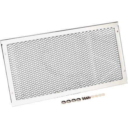 Show Chrome Mesh Radiator (Show Chrome Accessories 1-307 Mesh Radiator Accent)