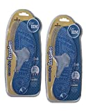 Maxam Massaging Insoles for Him 1 Pair (Pack of 2, Contains Both Left and Right Insoles), Fit Size 10-11 Shoe (10-11 Men's Shoe Size)