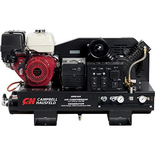 Campbell Hausfeld 3-in-1 Truck Mount 10 Gallon Air Compressor/Generator/Welder Model GR3100