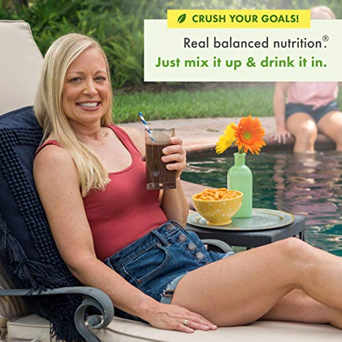 Nutrisystem® NutriCRUSH® Chocolate Shake Mix, 20 Count, Now with 50% More Protein by Nutrisystem (Image #2)