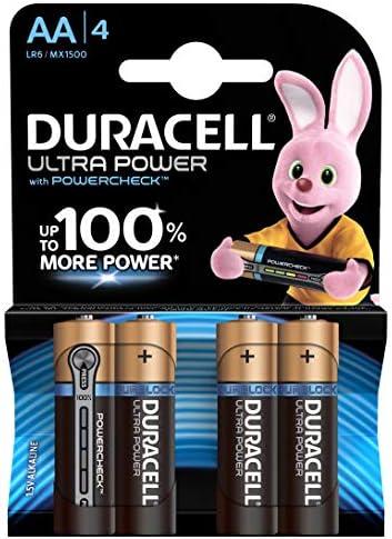 Duracell Ultra Power Typ Aa Alkaline Batterien 4er Elektronik