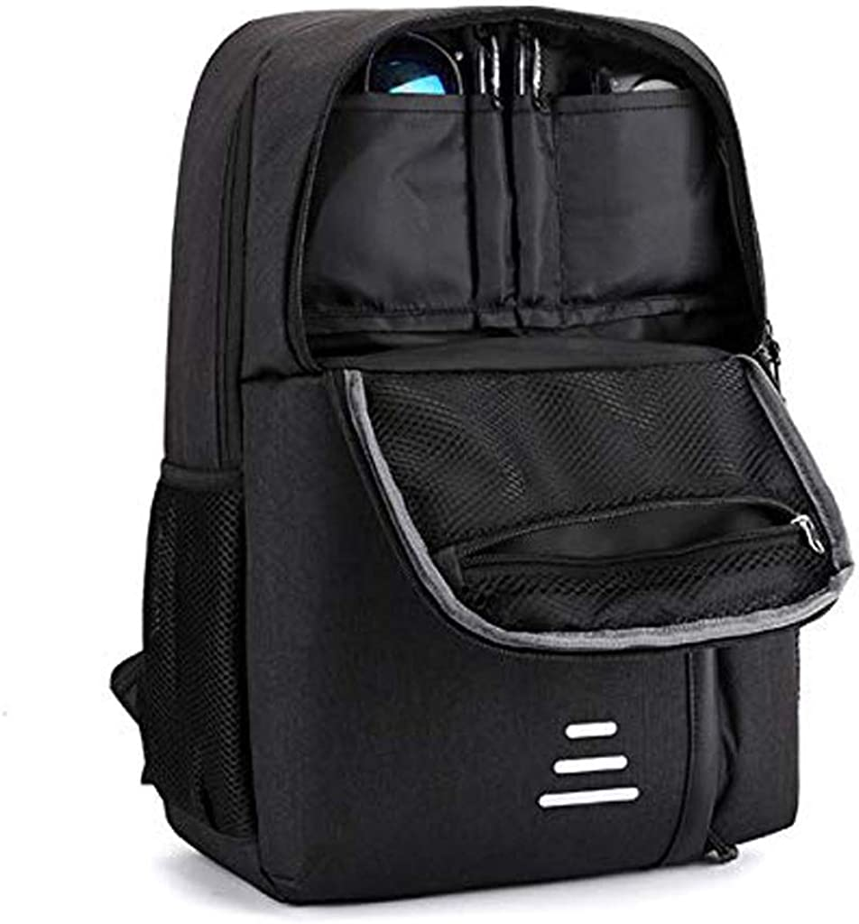 ZLVWB Laptop Backpack Business Slim Anti-Theft Backpacks with USB Charging Port Water Resistant College School Computer Bag