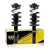 OREDY Front Pair Complete Quick Struts Shock Coil Spring Assembly Kit 172311 11060 Compatible with 2007 2008 2009 Volkswagen Jetta Passat Gti Rabbit Eos 2007 2008 2009 2010 2011 Audi A3 A3 Quattro