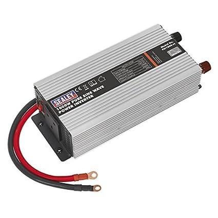 Af modish Sealey PSI1000 Power Inverter Pure Sine Wave 1000W 12V DC - 230V JA41