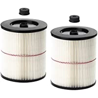 Huiaway Filter Fit for Craftsman 17816 9-17816 Replacement Wet Dry Vacuum Air Filter Vacuum Filter Vacuum Cleaner Attachment