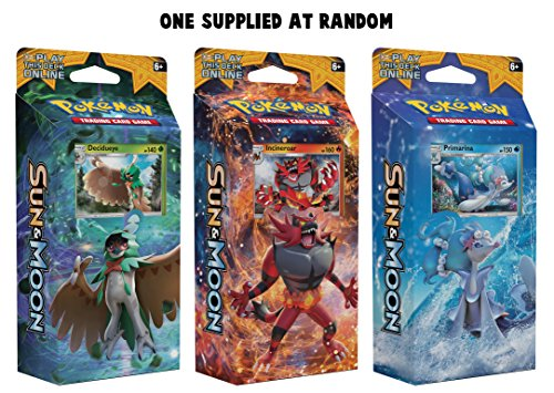 Pokemon TCG: Sun & Moon, Random Draw Theme Deck