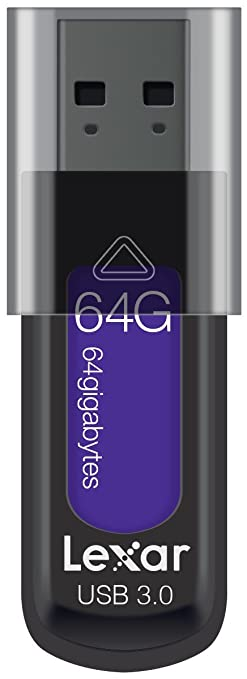 23 opinioni per Lexar JumpDrive S57 64GB USB 3.0 Flash Drive LJDS57-64GABEU, Viola