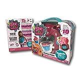 Sew Cool Kids No Thread Sewing Studio Machine and Jumbo DIY Fabric Kit Bundle