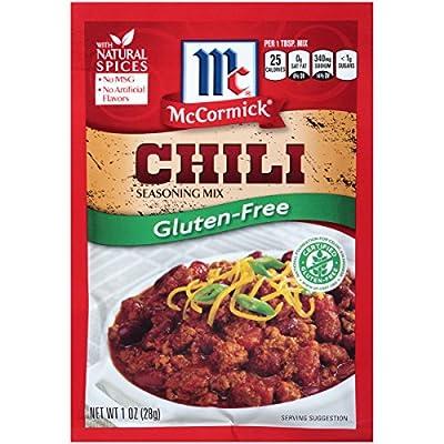 McCormick Gluten Free Chili Seasoning Mix, 1 oz