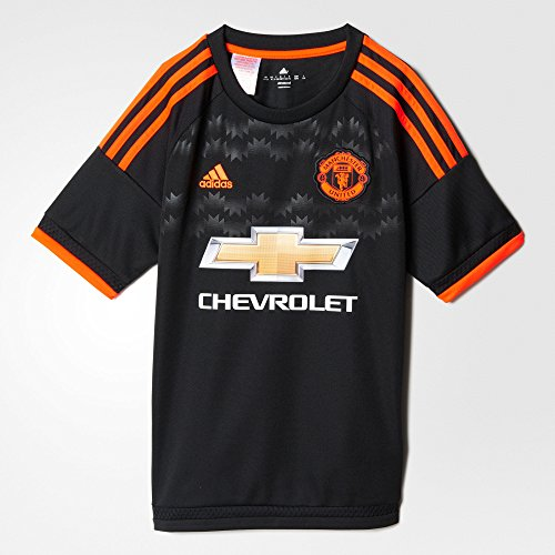Adidas Manchester United FC 3rd Youth Jersey-BLACK (S)