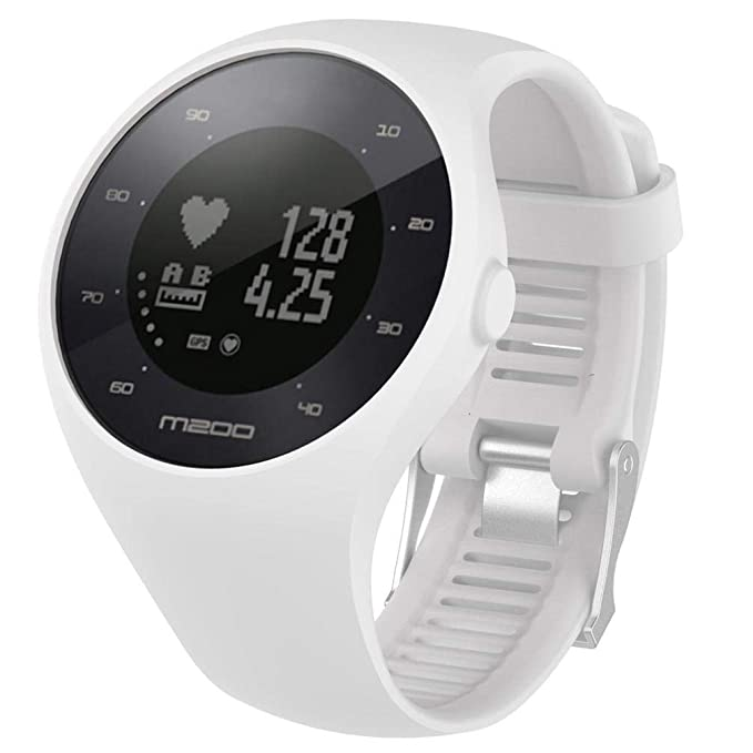Bestow Reloj de Pulsera Polar M200 Fitness Banda de Reloj de Pulsera de Goma de Silicona