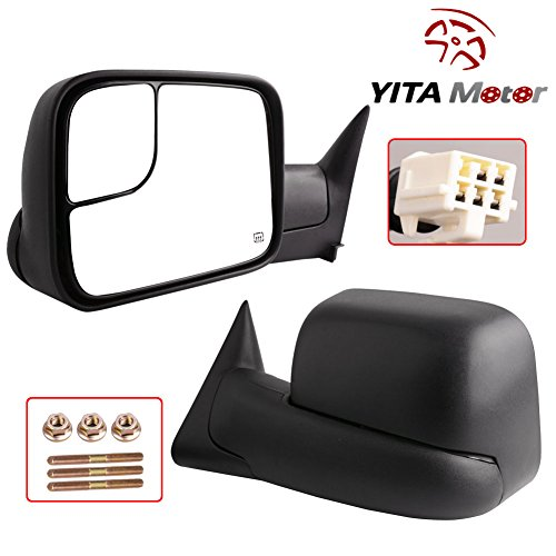 01 3500 dodge tow mirrors - 1