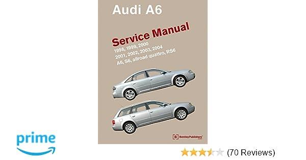 audi a6 c5 service manual 1998 1999 2000 2001 2002 2003 rh amazon com 2001 audi a6 owners manual 2001 audi allroad owners manual