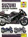 H4184 Suzuki GSX1300R Hayabusa 1999-2004 Haynes Repair Manual
