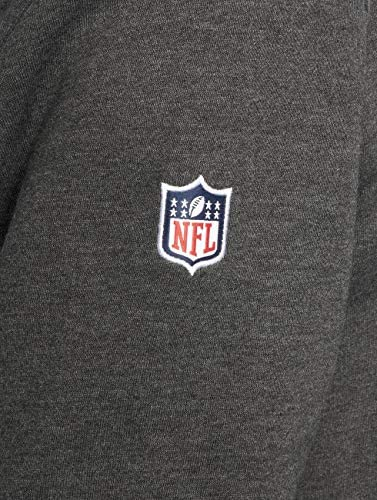 New Era NFL Fan Pack Hoody Herren New England Patriots Dunkelgrau