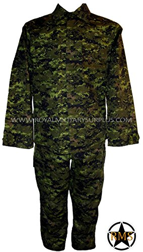 RMS Combat BDU Uniform - Canada Army Digital Camouflage -...