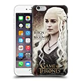Official HBO Game Of Thrones Daenerys Targaryen Character Quotes Hard Back Case for Apple iPhone 6 Plus / 6s Plus