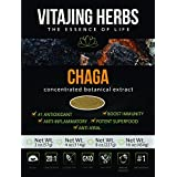 Chaga Mushroom Extract Powder (2oz-57gm) | 20:1 Concentration by VitaJing