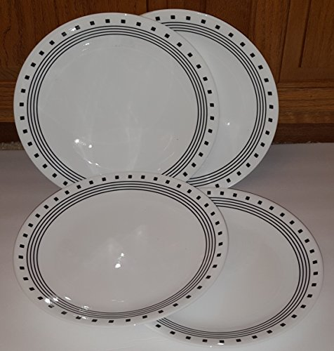"Corelle Livingware City Block 10-1/4"" Dinner Plate (Set of 4)"