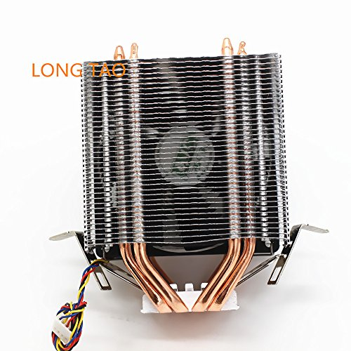 LONG TAO Dual Tower Heat-Sink CPU Cooler with 4 Direct Contact Heatpipes by LONG TAO (Image #1)