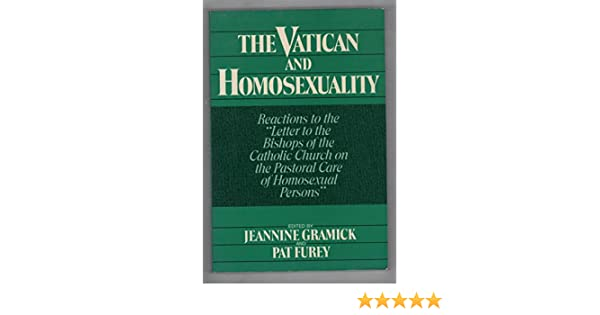 Pastoral letter homosexuality