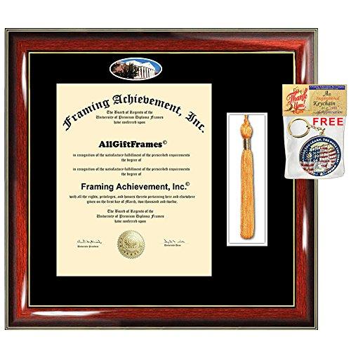 Amazon.com : AllGiftFrames Liberty University Diploma Frame Tassel ...