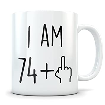 Funny 75th Birthday Gift For Women And Men