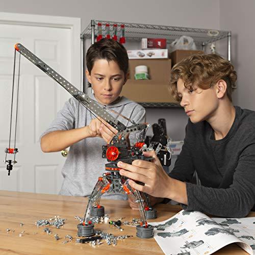 Erector by Meccano Super Construction Ensemble de construction motorisé 25 en 1, jouet éducatif STEM pour 10 ans et plus