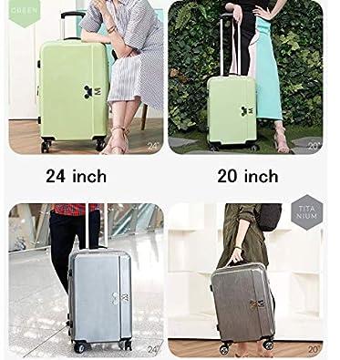 a0e0410e3b Amazon   H-OUTDOOR スーツケース キャリーケース TSAロック SUITCASE 旅行 出張 Pastel 20  inch(海外直送品) (GREEN)   スーツケース