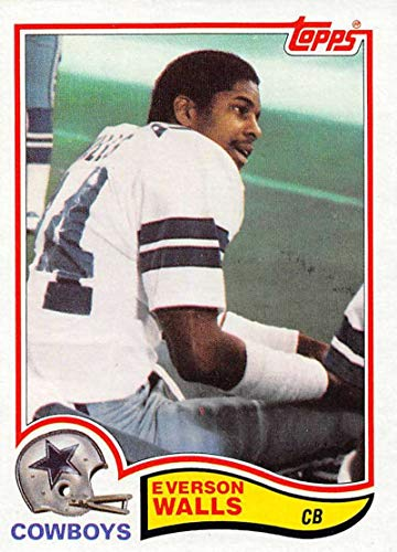 (1982 Topps Football #327 Everson Walls RC Rookie Card Dallas Cowboys)