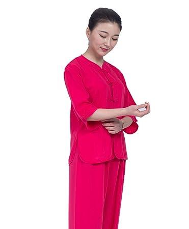 Amazon.com: AMhuui Tai Chi - Traje para hombre con bordado ...